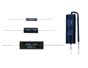 模压型低阻、无感电阻器